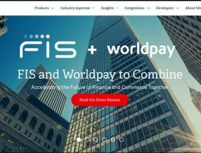 Worldpay homepage March2019 290x220 - FinTech史上最大收購!FIS斥3375億鯨吞WorldPay!