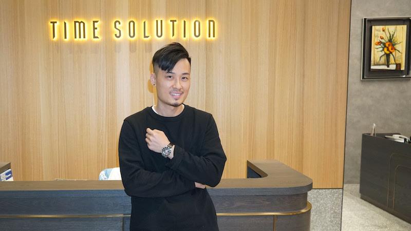 Time sloution 1 - 鐘錶轉型網上平台俘虜年輕顧客!Time Solution創辦人:「改革鐘錶業,做大個餅」!